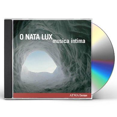 Musica intima O NATA LUX CD