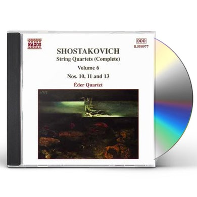 Shostakovich STRING QUARTETS 6 CD