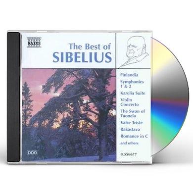 BEST OF SIBELIUS CD