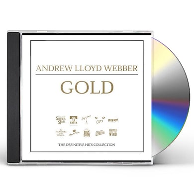 Andrew Lloyd Webber GOLD: THE DEFINITIVE HITS COLLECTION CD