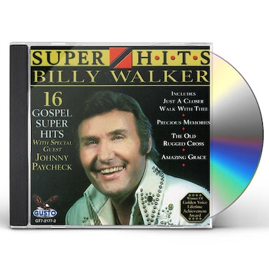 Billy Walker 16 SUPER HITS CD