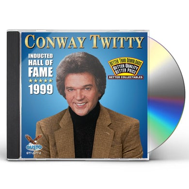 Conway Twitty INDUCTED HALL OF FAME 1999 CD