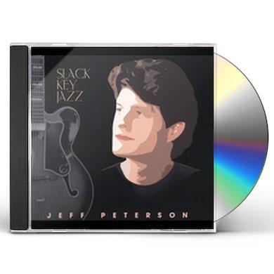 Jeff Peterson SLACK KEY JAZZ CD