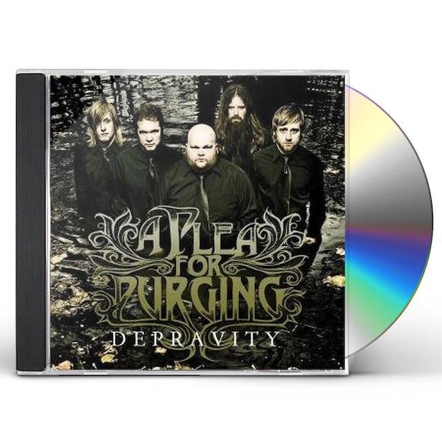 Plea For Purging DEPRAVITY CD