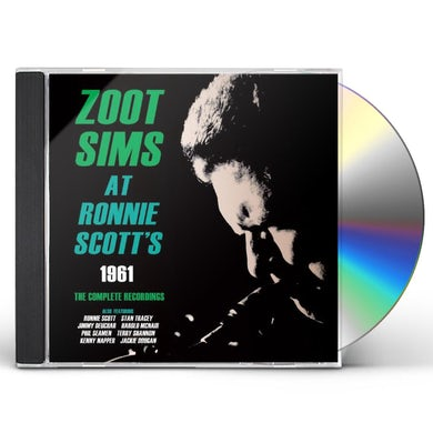 Zoot Sims AT RONNIE SCOTT'S 1961: COMPLETE RECORDINGS CD