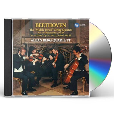 Alban Berg Quartett Beethoven: String Quartets 7-11 CD