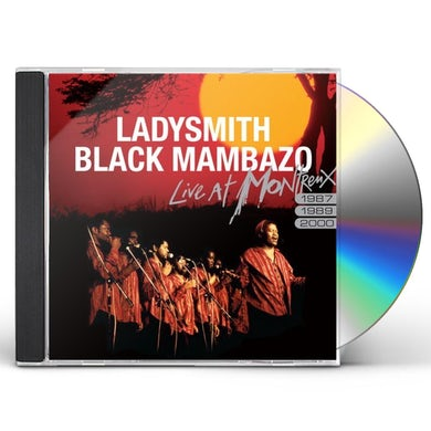 Ladysmith Black Mambazo LIVE AT MONTREUX 1987 1989 2000 CD