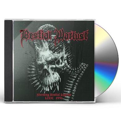 Bestial Warlust STORMING BESTIAL LEGIONS LIVE '96 CD