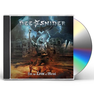 Dee Snider FOR THE LOVE OF METAL CD