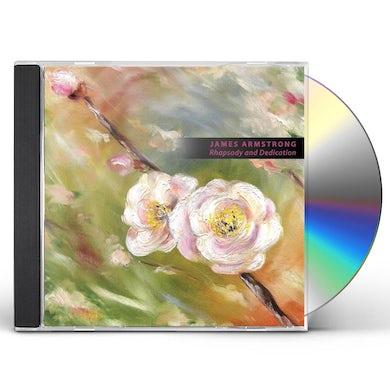 James Armstrong RHAPSODY & DEDICATION CD