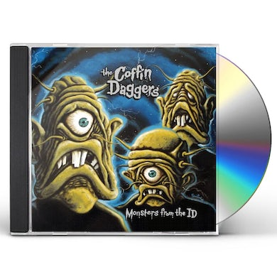 Coffin Daggers MONSTERS FROM THE ID CD