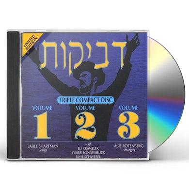 Abie Rotenberg DVEYKUS 1 2 & 3 CD