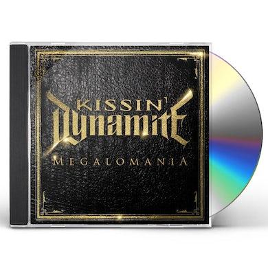 Kissin Dynamite MEGALOMANIA CD