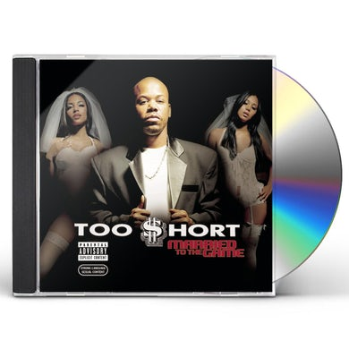 Too $hort MARRIED TO THE GAME CD