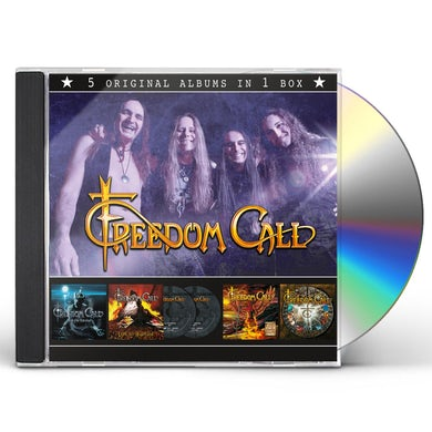 Freedom Call 5 ORIGINAL ALBUMS CD