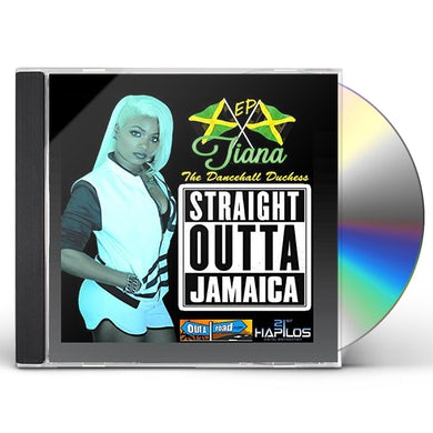 Tiana STRAIGHT OUTTA JAMAICA CD