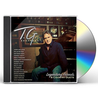 T.G. Sheppard LEGENDARY FRIENDS & COUNTRY DUETS CD