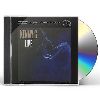 Kenny G LIV: UHQCD CD