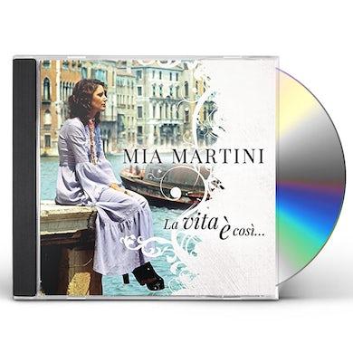 Mia Martini LA VITA E COSI: BEST OF CD
