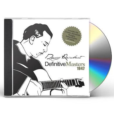 Django Reinhardt DEFINITIVE MASTERS CD