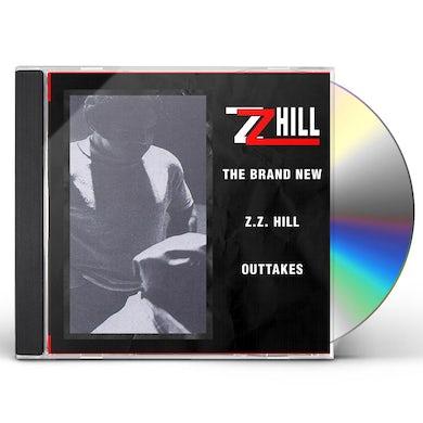 BRAND NEW Z.Z. HILL - OUTTAKES CD
