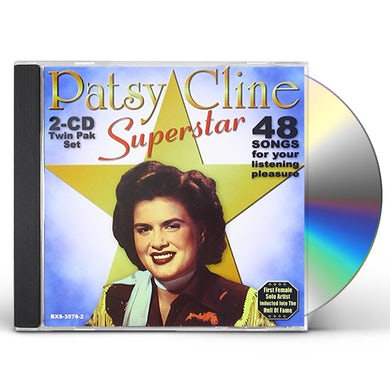 Patsy Cline SUPERSTAR 48 SONGS CD
