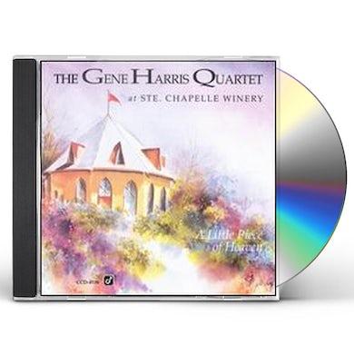 Gene Harris LITTLE PIECE OF HEAVEN (LIVE) CD