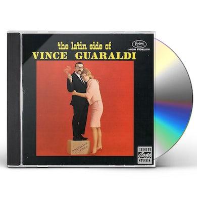 Vince Guaraldi LATIN SIDE OF GUARALDI CD