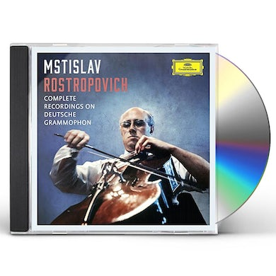 Mstislav Rostropovich COMPLETE RECORDINGS ON DEUTSCHE GRAMMOPHON CD