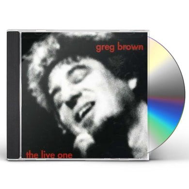 Greg Brown LIVE ONE CD