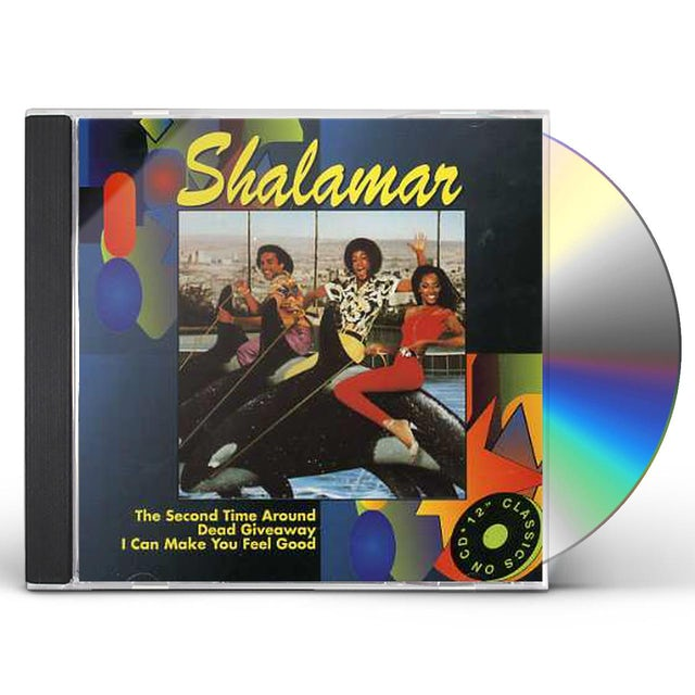 Shalamar SECOND TIME AROU/DEAD GIVEAWAY CD