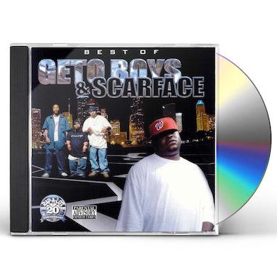 Best of Geto Boys & Scarface CD