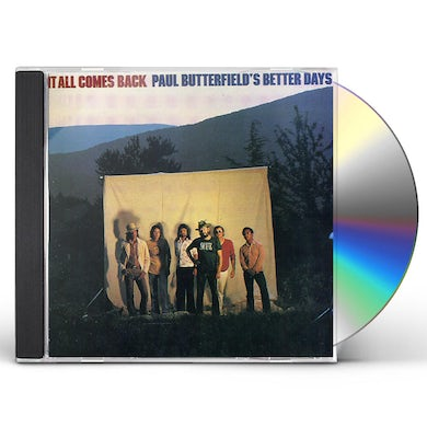 Paul Butterfield IT ALL COMES BACK CD