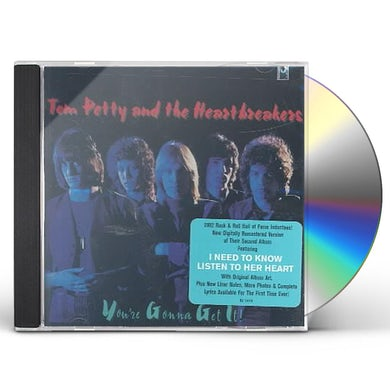 Tom Petty and the Heartbreakers YOU'RE GONNA GET IT CD