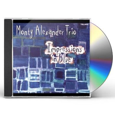 Monty Alexander IMPRESSIONS IN BLUE CD