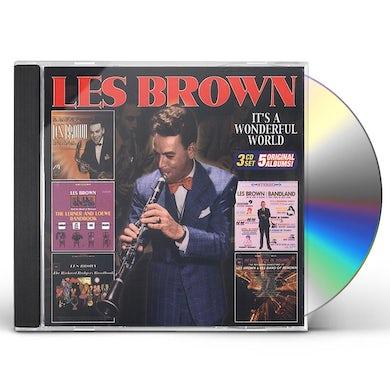 Les Brown IT'S A WONDERFUL WORLD CD