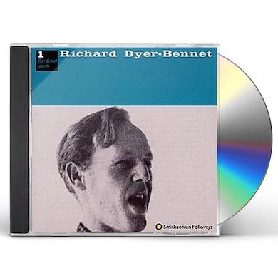 Richard Dyer-Bennet DYER-BENNET 1 CD