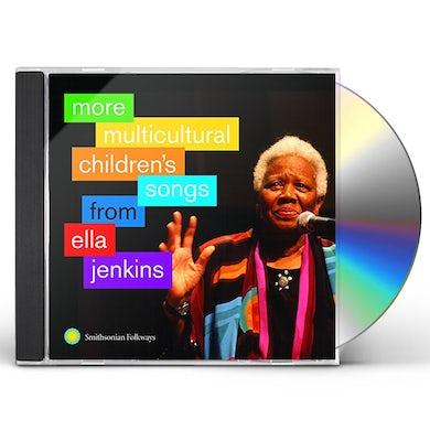 Ella Jenkins MORE MULTICULTURAL CHILDREN'S SONGS FROM ELLA CD