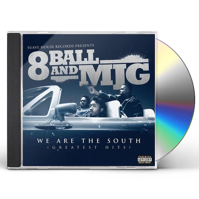 Eightball & Mjg WE ARE THE SOUTH: GREATEST HITS CD
