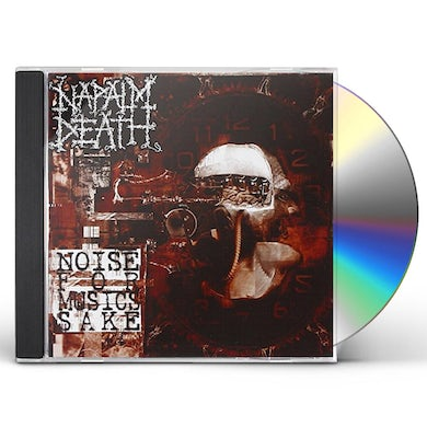 Napalm Death NOISE FOR MUSIC'S SAKE CD