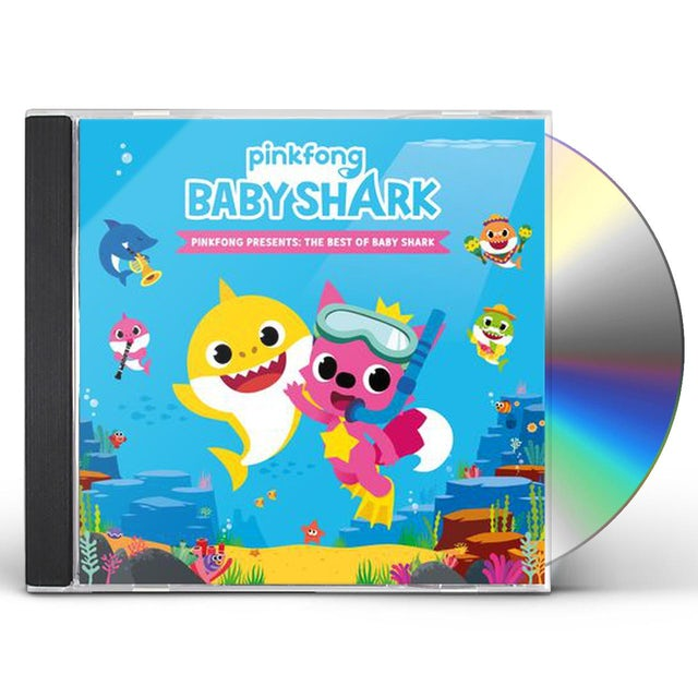 Pinkfong PRESENTS: THE BEST OF BABY SHARK CD
