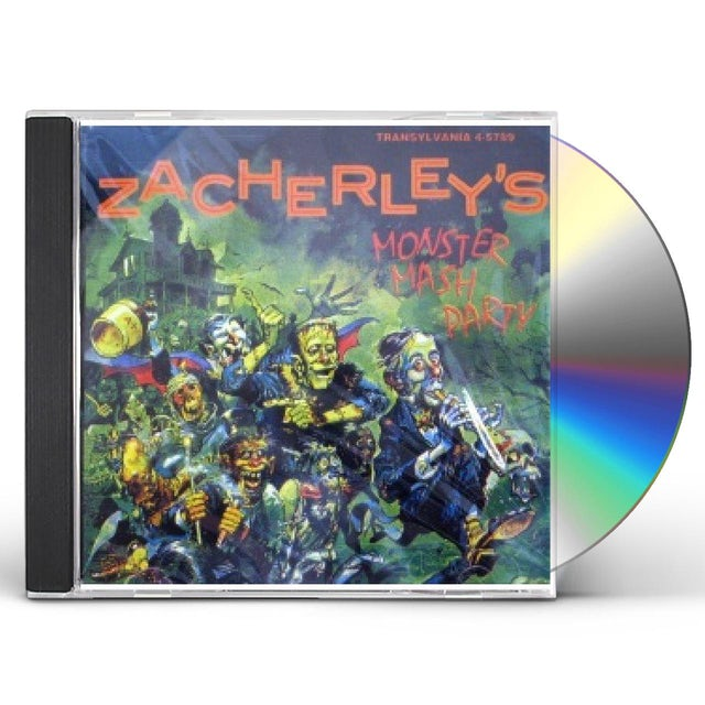 John Zacherle ZACHERLEY'S MONSTER MASH PAR CD