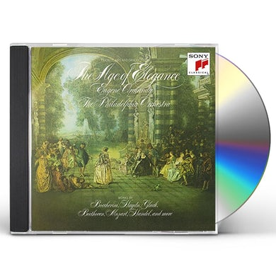 Eugene Ormandy AGE OF ELEGANCE CD