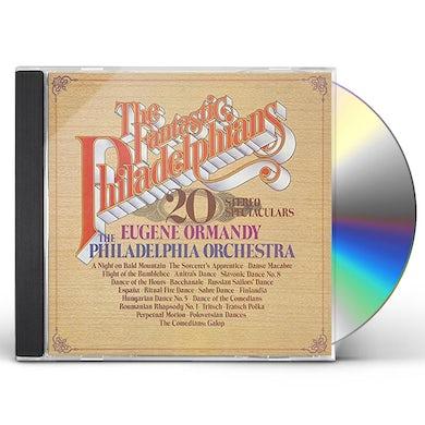 Eugene Ormandy FANTASTIC PHILADELPHIANS CD