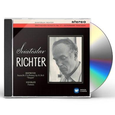 Sviatoslav Richter BEETHOVEN: PIANO SONATA NO.17 'TEMPE CD