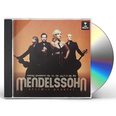 Artemis Quartet MENDELSSOHN: STRING QUARTETS OP.13.O CD
