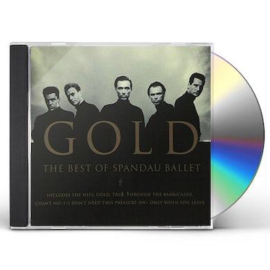 Spandau Ballet GOLD: THE BEST OF CD