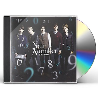 SHINee YOUR NUMBER CD