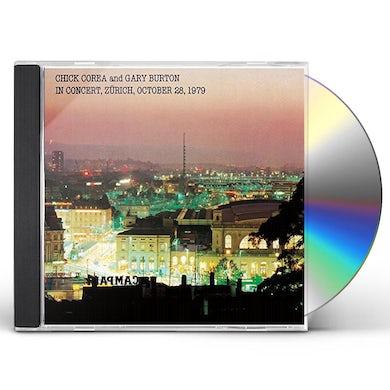Gary Burton IN CONCERT ZURICH OCTOBER 28 1979 CD