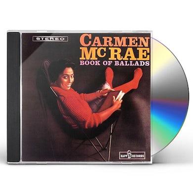 Carmen McRae BOOK OF BALLADS CD